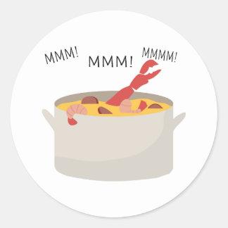 MMM Gumbo Round Stickers