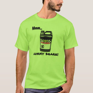Mmm... GUMMY BEARS! Drag Racer T-Shirt