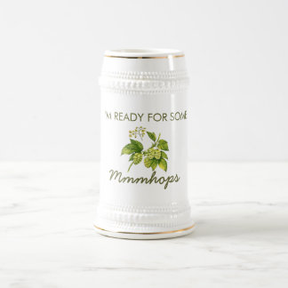 Mmmhops IPA Beer Stein