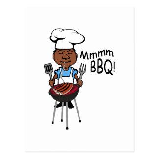 Mmmm BBQ! Postcard