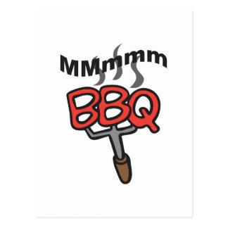 MMMM BBQ POSTCARD