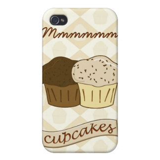 Mmmm Cupcakes - Cute Dessert Cakes iPhone 4/4S Case