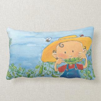 MMMM... Peas please! Lumbar Cushion