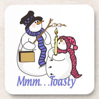 Mmmm...Toasty Beverage Coaster
