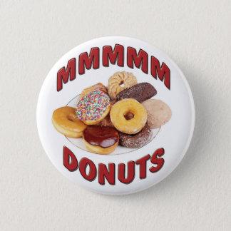 MMMMM DONUTS 6 CM ROUND BADGE