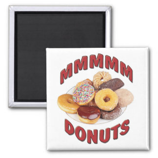 MMMMM DONUTS MAGNET