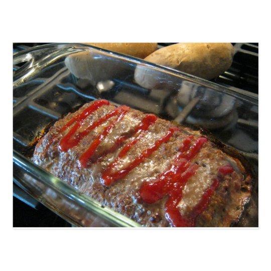 Mmmmm, Meatloaf! Recipe Card
