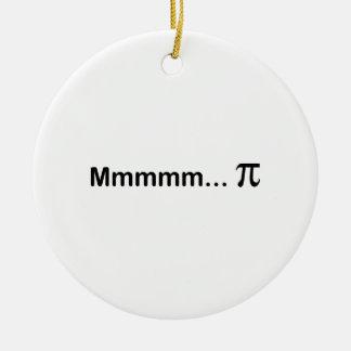Mmmmm...PI Christmas Ornament