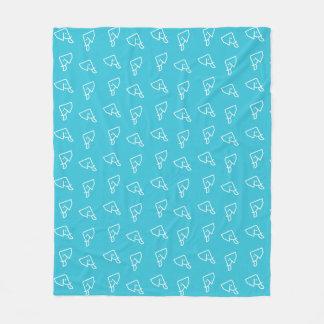 MMNH Blue Elephant Fleece Blanket