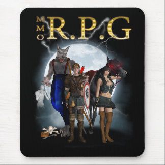 MMORPG - MMORPG - Game Fan Mousepad