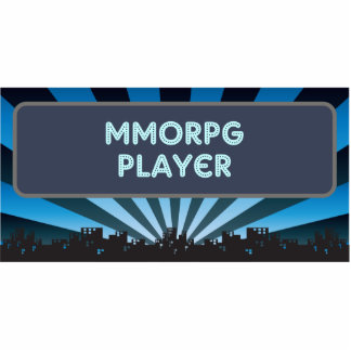 MMORPG Player Marquee Cut Out
