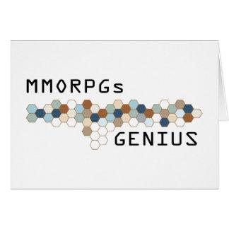 MMORPGs Genius Card