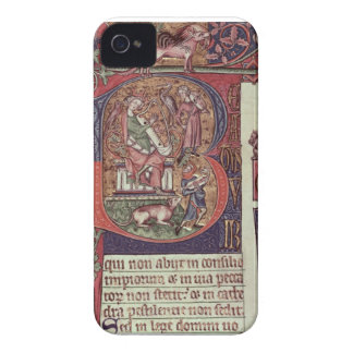 Mms 9961-2 Historiated Initial 'B' from the Peterb iPhone 4 Case-Mate Cases