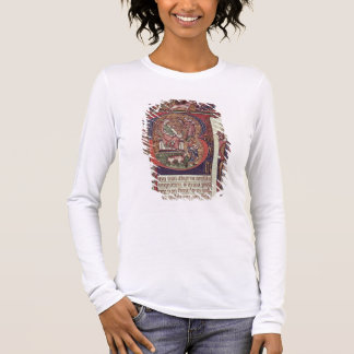 Mms 9961-2 Historiated Initial 'B' from the Peterb Long Sleeve T-Shirt