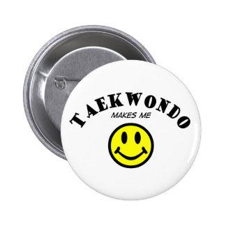 MMS: Taekwondo 6 Cm Round Badge
