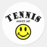 MMS: Tennis Classic Round Sticker