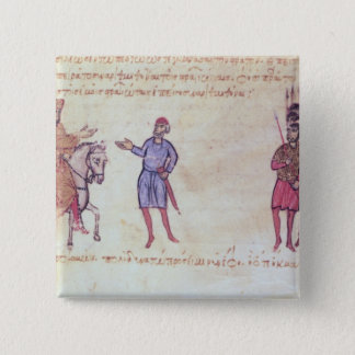 MMS Vitr 26-7 The Byzantine Army Putting to Flight 15 Cm Square Badge