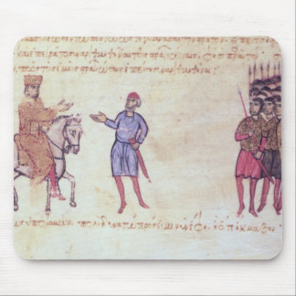 MMS Vitr 26-7 The Byzantine Army Putting to Flight Mouse Mat