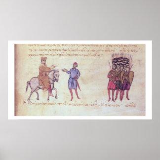 MMS Vitr 26-7 The Byzantine Army Putting to Flight Poster