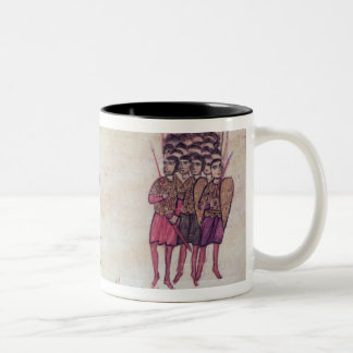 MMS Vitr 26-7 The Byzantine Army Putting to Flight Two-Tone Coffee Mug