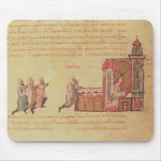 MMS Vitr 26-7 The Byzantine Emperor Romanus III Ar Mouse Pad