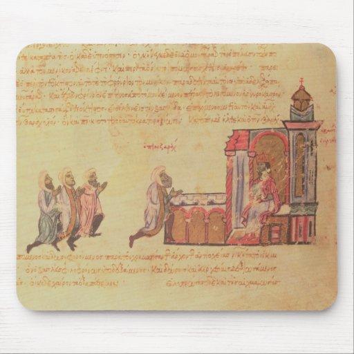 MMS Vitr 26-7 The Byzantine Emperor Romanus III Ar Mouse Pads