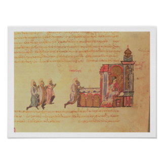 MMS Vitr 26-7 The Byzantine Emperor Romanus III Ar Poster