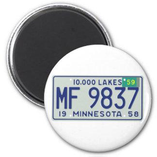 MN59 6 CM ROUND MAGNET