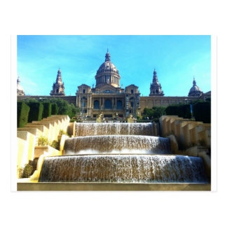MNAC, (Art Museum) Barcelona, Spain Postcard