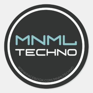 MNML techno sticker