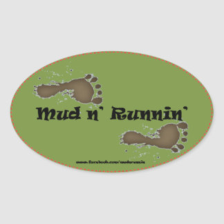 MNR_Logo Oval Sticker