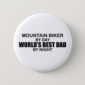 Mntn Biker - World's Best Dad 6 Cm Round Badge