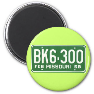 MO68 6 CM ROUND MAGNET