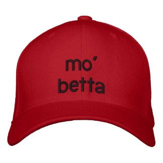 mo' betta embroidered baseball caps