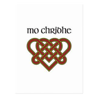 Mo Chridhe - My Heart in Gaelic Postcard