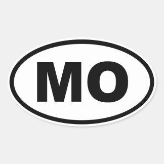 MO Missouri Oval Sticker