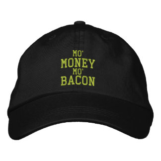 MO' MONEY MO' BACON Embroidered Cap