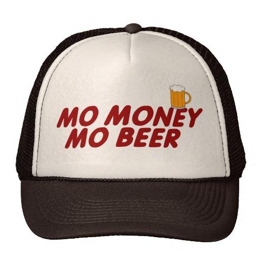 MO MONEY MO BEER MESH HATS