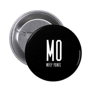 Mo Wifey Points Gear 6 Cm Round Badge