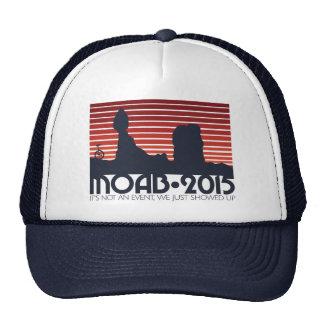 MOAB 2015 RED v3 Trucker Cap