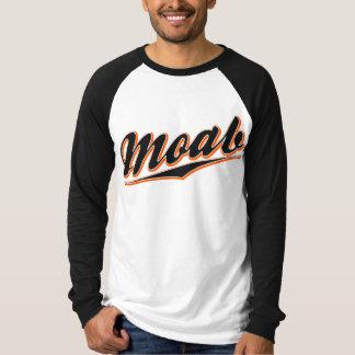 Moab Baseball Script T Shirt