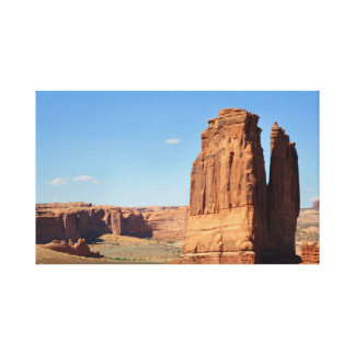 Moab Stretched Canvas Print