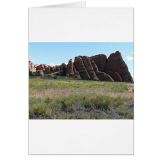 moab scenery 3 greeting card