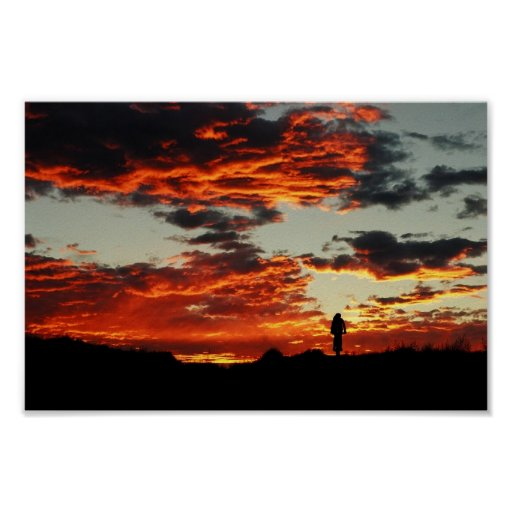 Moab Sunset Poster