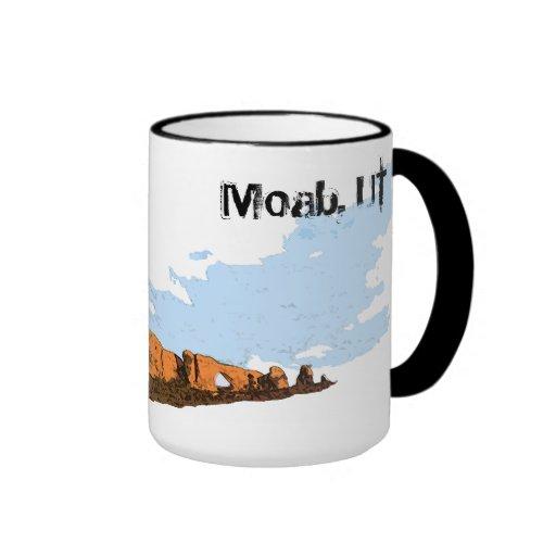 Moab, UT. Arch's National Park Coffee Mug
