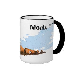 Moab, UT. Arch's National Park Ringer Mug