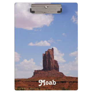 Moab, UT Clipboard