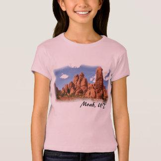 Moab, UT girls tee