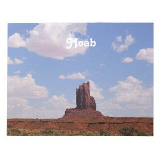 Moab UT Memo Notepad