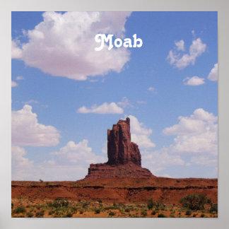 Moab UT Poster